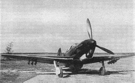 Истребитель як-7.