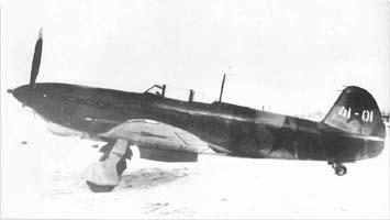 Истребитель як-7п.