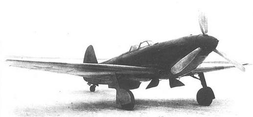 Истребитель як-9у вк-105пф2.