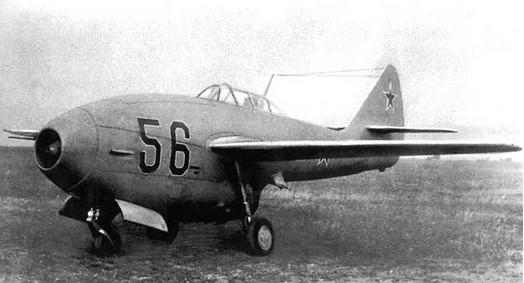 Истребитель ла-156.