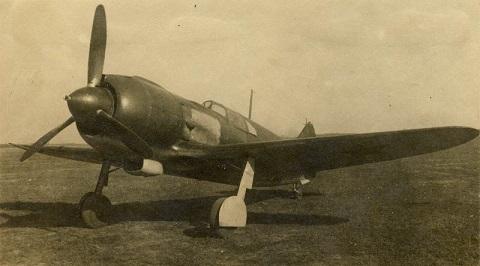 Истребитель ла-5.