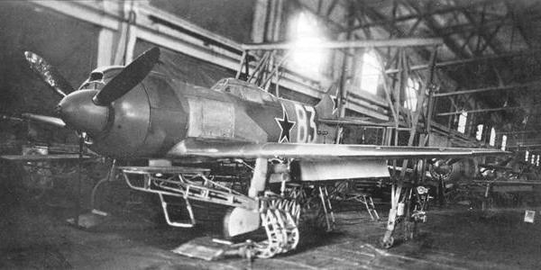 Истребитель ла-5фн.