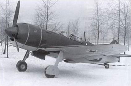 Истребитель ла-7.