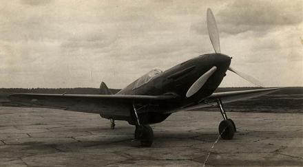 Истребитель лагг-1 (и-301).
