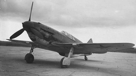Истребитель лагг-3 (23-35 серий).