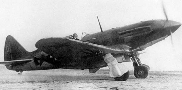 Истребитель миг-3.