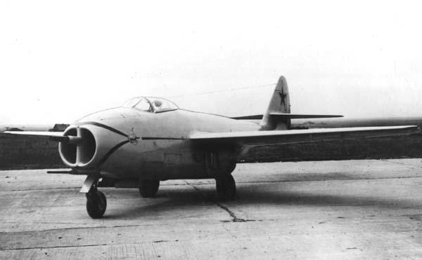 Истребитель миг-9.