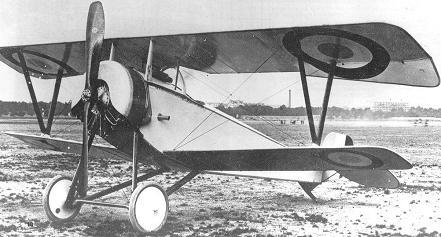 Истребитель nieuport n.11 «bebe».