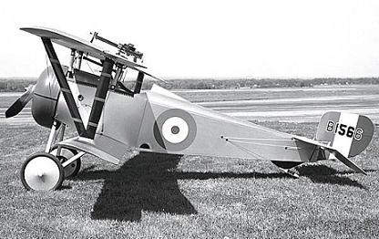 Истребитель nieuport n.17.