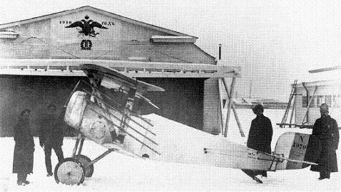 Истребитель nieuport n.21.