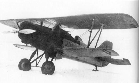Истребитель-перехватчик и-8 (ант-13).