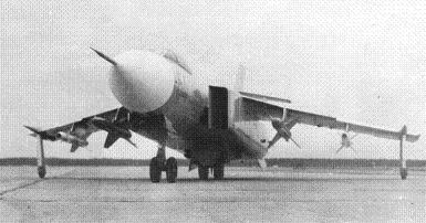 Истребитель-перехватчик як-28-64.