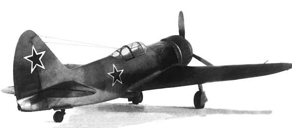 Истребитель-перехватчик ла-7р.