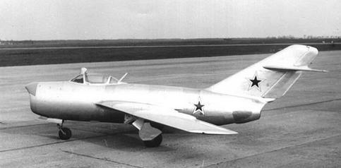 Истребитель-перехватчик миг-15пбис (сп-5).