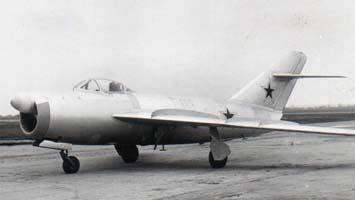 Истребитель-перехватчик миг-17п (сп-2).