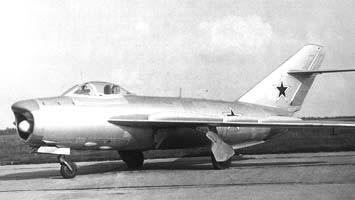 Истребитель-перехватчик миг-17пф (сп-7).