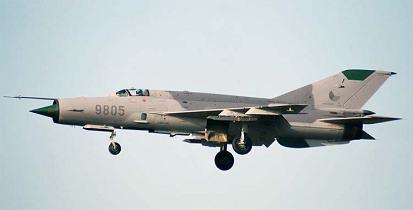 Истребитель-перехватчик миг-21мф.