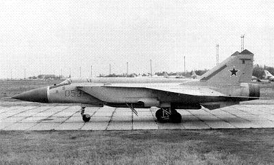 Истребитель-перехватчик миг-31м.
