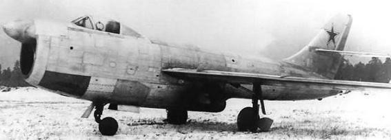 Истребитель-перехватчик су-15 (первый).