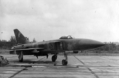 Истребитель-перехватчик су-15тм.
