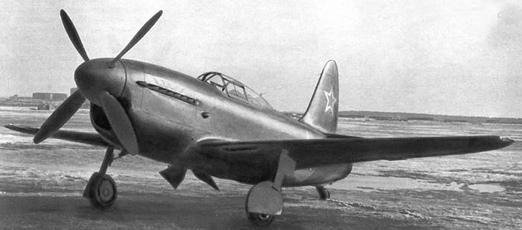 Истребитель-перехватчик су-5 (и-107).