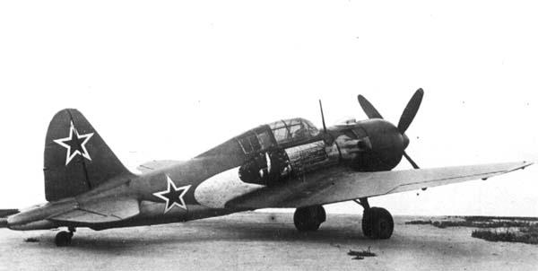 Истребитель-перехватчик су-7 (первый).