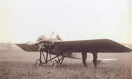 Истребитель-разведчик morane saulnier type g/h.
