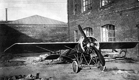 Истребитель-разведчик morane-saulnier type n.