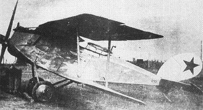 Истребитель сопровождения и ударный самолет «halberstadt» cl.iv.