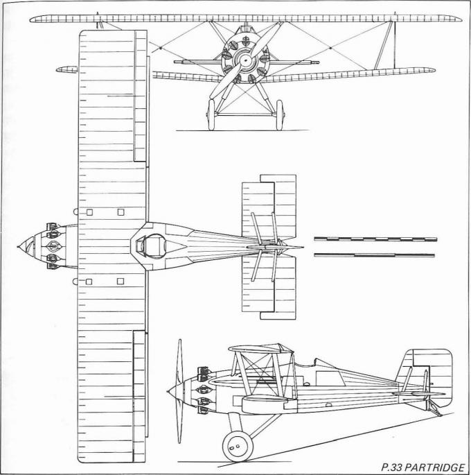 Истребители спецификации f.9/26. опытный истребитель boulton-paul p.33 partridge. великобритания