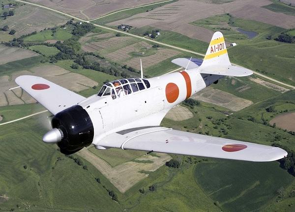 Японский самолет зеро. фото. видео. mitsubishi a6m zero. окраска.