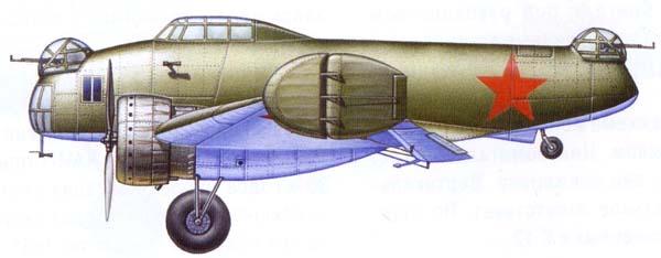 Экспериментальный бесхвостый бомбардировщик к-12. ссср