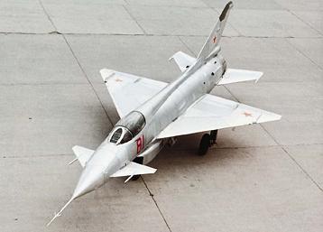 Экспериментальный истребитель е-8.