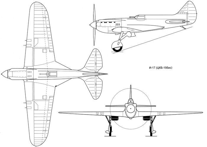Экспериментальный истребитель г-26 гроховского (проект).