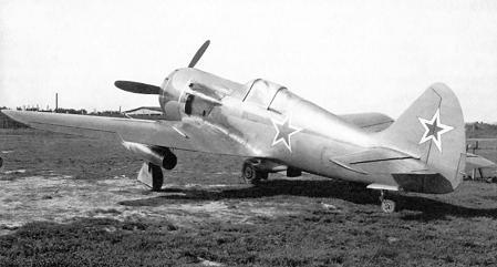 Экспериментальный истребитель ла-138.