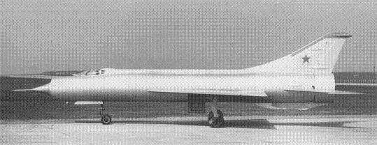 Экспериментальный истребитель-перехватчик е-150.