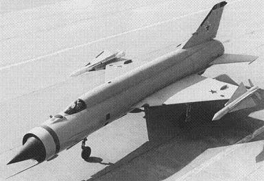 Экспериментальный истребитель-перехватчик е-152п(м).
