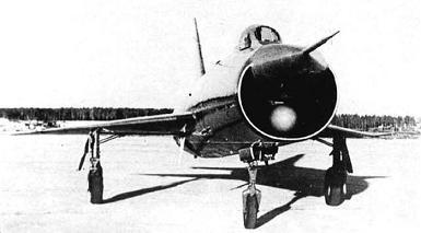 Экспериментальный истребитель-перехватчик т-3.