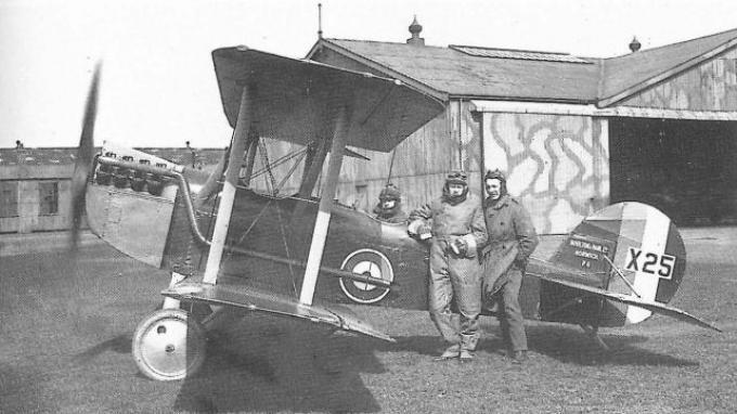 Экспериментальный самолет boulton-paul p.6. великобритания
