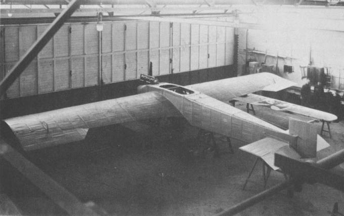 Экспериментальный самолет junkers j.1 blechesel. германия
