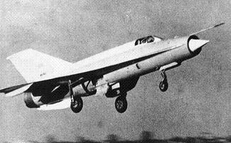 Экспериментальный самолет миг-21и (а-144) «аналог».