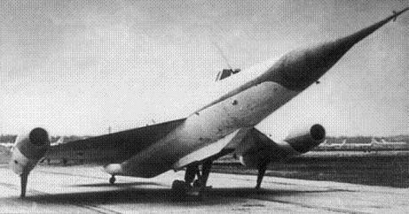 Экспериментальный самолет нм-1 (рср).