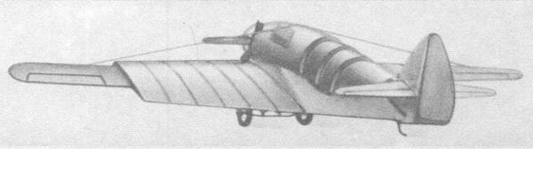 Экспериментальный самолет рк (лиг-7).