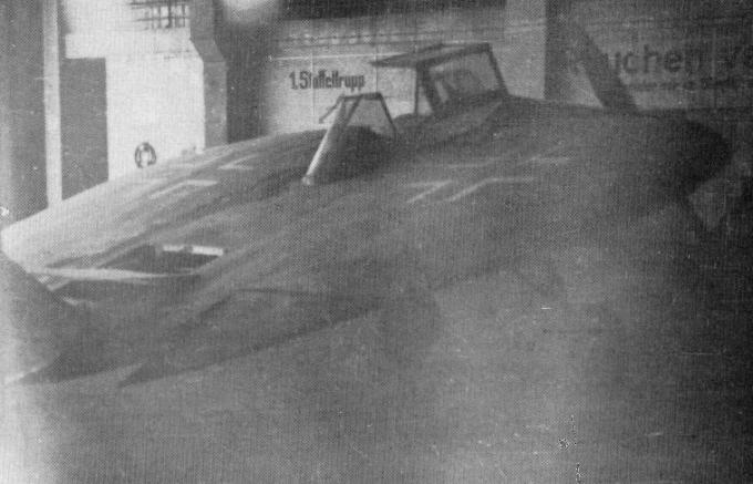 Экспериментальный самолет с круглым крылом as 6 v1. германия