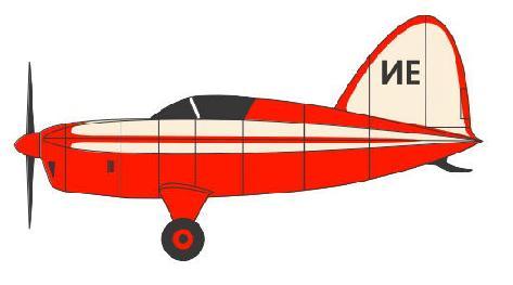 Экспериментальный самолет сам-9 «стрела».
