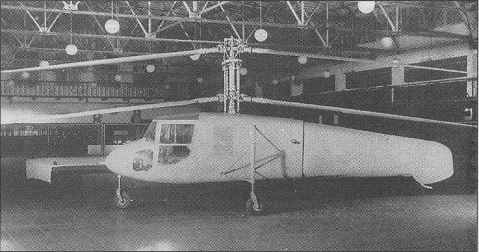 Экспериментальный самолет ту-2п.