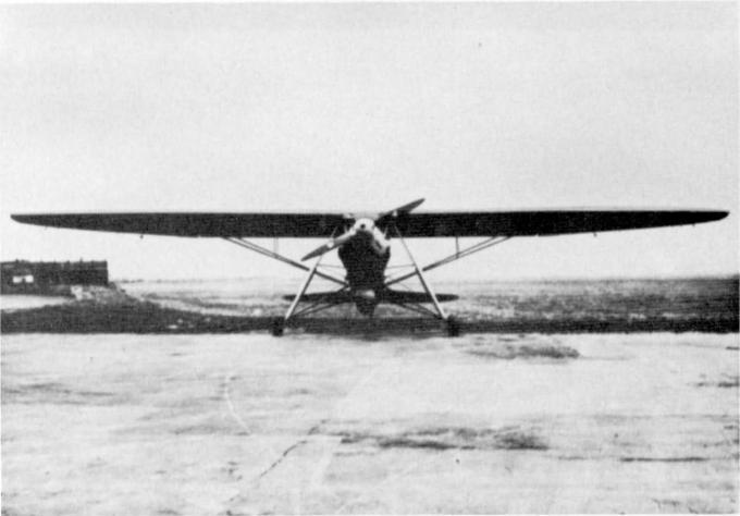 Экспериментальный самолёт af 2. германия