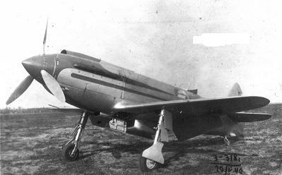 Экспериментальный скоростной самолет ск-1.