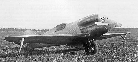 Экспериментальный скоростной самолет «сталь-6».