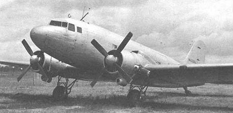 Экспериментальный высотный самолет ли-2в.